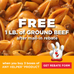 Hamburger Helper to the Rescue for Dinner with Free Ground Beef
