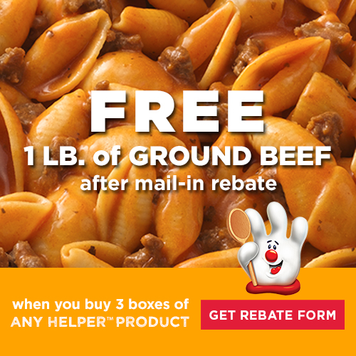 Hamburger Helper Rebate