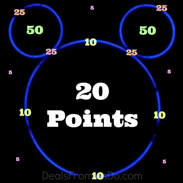 Mickey Mouse Glow Stick Ring Toss