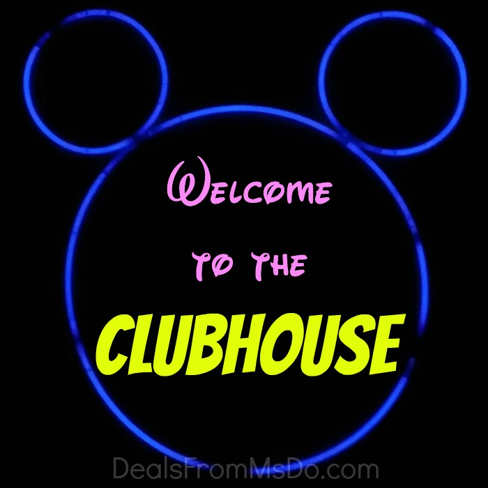 Welcome to the Clubhouse Glow Sticks Banner