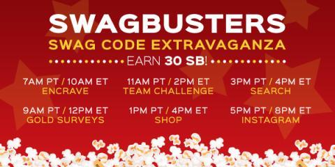 Swagbucks Codes Extravaganza