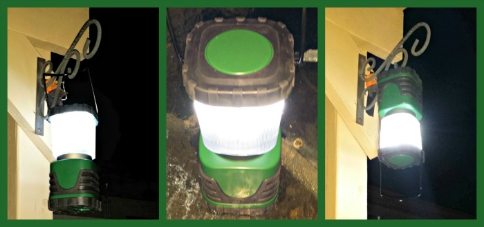 LED Lantern Collage