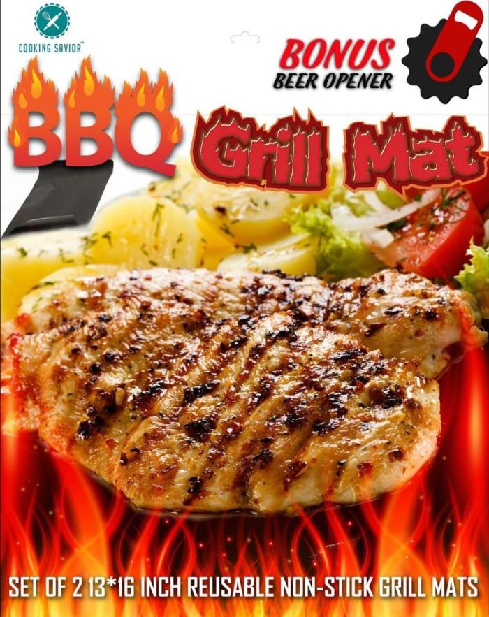 Cooking Savior BBQ Grill Mats