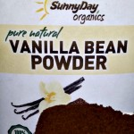 Organically Grown Vanilla Bean Powder