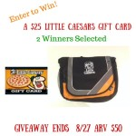 Enter to win the $25 Little Caesars Giveaway